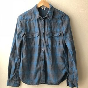 PAIGE Flannel Sleeves Shirt